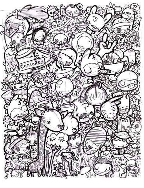doodle 4 drawing sheet 17 best images about doodle on behance doodle