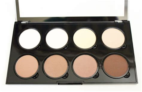 Contour 8 Colors Medium Palette Concealer Shading review nyx highlight and contour pro palette simple stylings
