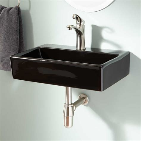 Wall Mount Kitchen Sink Hshire Wall Mount Sink Bathroom