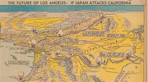 map california japan japan attacks l a and the rest of the us in 1938