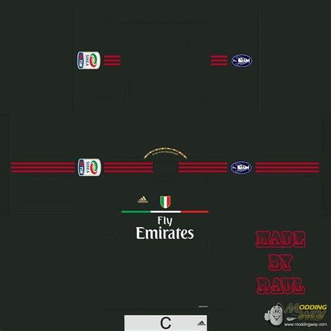Ac Milan 11 by Ac Milan 11 12 Third Pro Evolution Soccer 2011