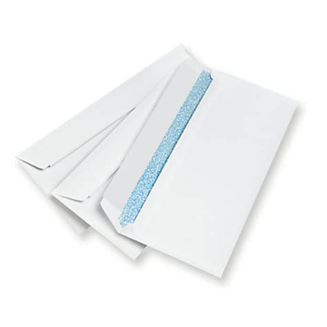 Office Depot Brand Clean Seal Security Envelopes 10 4 18 X 9 12 White Box Of 500 By Office Depot Office Depot Envelope Templates