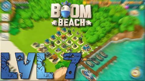 base layout strategy boom beach boom beach headquarters lvl 7 base layout defense