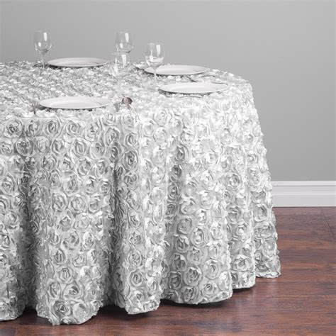 rosette tablecloth  seater table