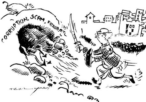 R K Laxman Sketches by The Common Is At Peace Now Rip R K Laxman