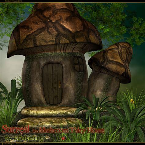 mushroom fairy house surreal for mushroom fairy house 3d models anagord