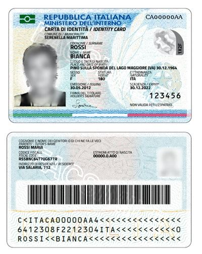 ministero dell interno servizi demografici cie carta di identit 224 elettronica rete civica
