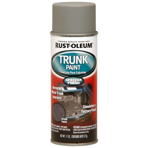 Rust Oleum Automotive 11 oz. Trunk Paint Spray (6 Pack