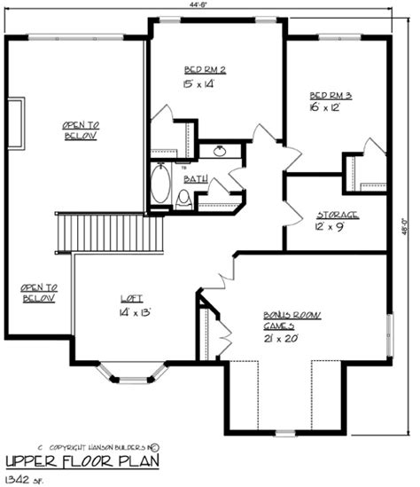 homes wexford floor plan the wexford 1691 4 bedrooms and 2 baths the house designers