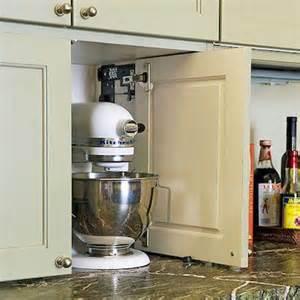 Kitchen Appliance Cabinet Storage kitchen appliance storage cabinet such a great idea for the heavier
