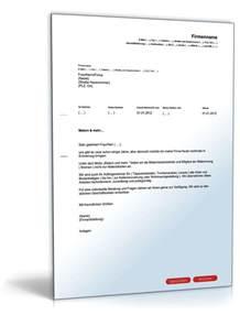 Werbebrief Vorlagen Muster Werbebrief F 252 R Einen Maler Und Tapezierbetrieb Muster Zum