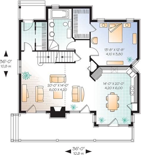 floorplans com cottage style house plan 3 beds 2 baths 1625 sq ft plan