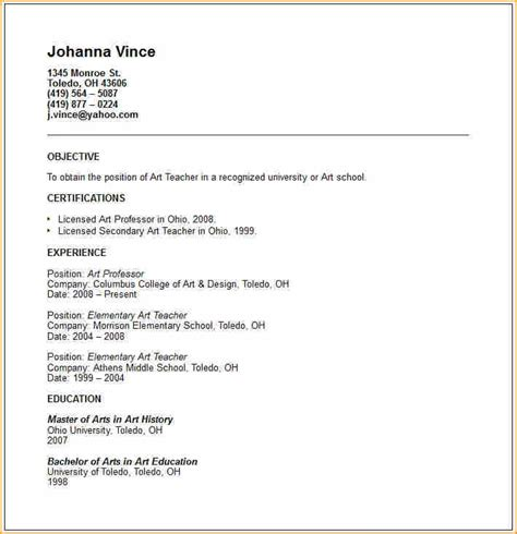 how to write a resume with experience how to write a resume without any experience sles