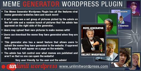 300 Meme Generator - 8 plugins wordpress pour permettre aux utilisateurs de
