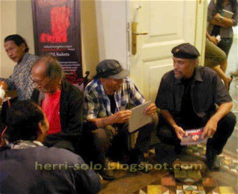Pesanan Pak Bakti pelukis realis indonesia herri soedjarwanto agustus 2012