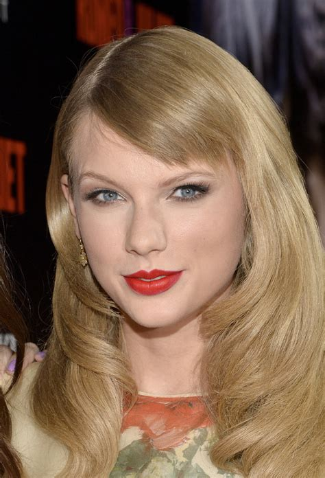 how to style bangs if too short taylor swift s new side swept bangs