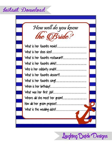 blue themed games nautical sailor theme bachelorette party game mad libs