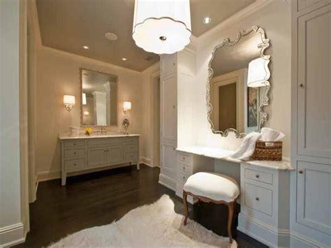 bathroom dressing table ideas built in dressing table bathroom