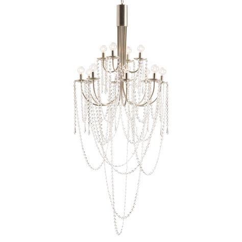 glass bead chandelier harlow classic clear glass bead modern chandelier kathy