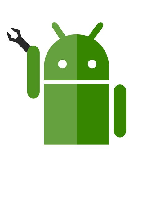 eps format android android robot vector clipart image free stock photo