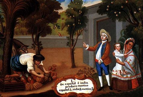 mestizo castas de pinturas mestizaje en am 233 rica wikiwand