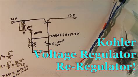 engine wiring kohler engine voltage regulator wiring