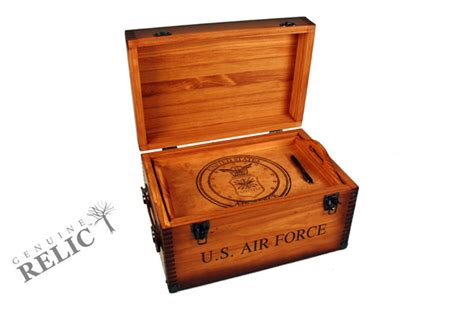 air force keepsake footlocker