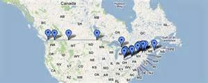map canada us border ship to the border