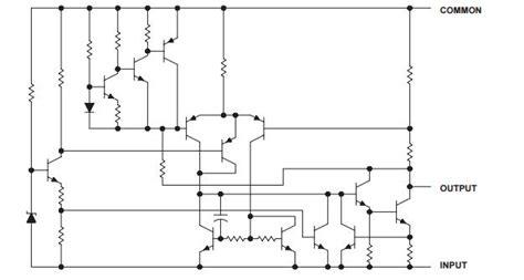 integrated circuits equivalence 79l05 transistor integrated circuit integrated circuit chip negative voltage regulators