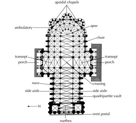 chartres cathedral floor plan plan chartres cathedral 1194 1220 architecture