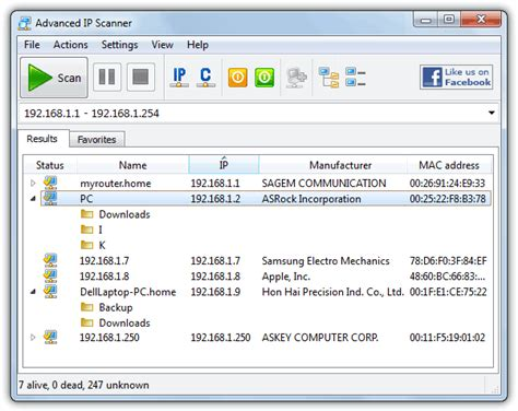 ip scan 5 tools to scan connected computers on the local network
