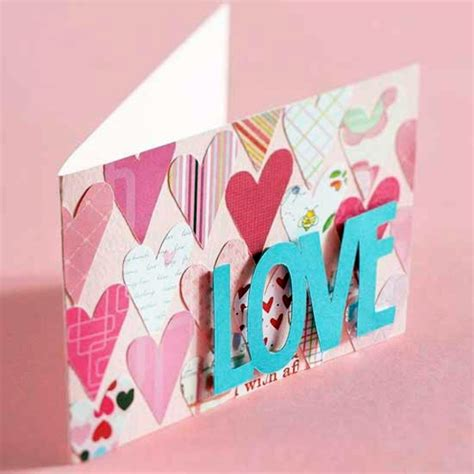 Valentines Day Handmade Cards - 32 ideas for handmade s day card interior