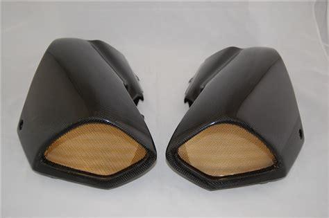 suzuki  king tank covers   carbon fiber