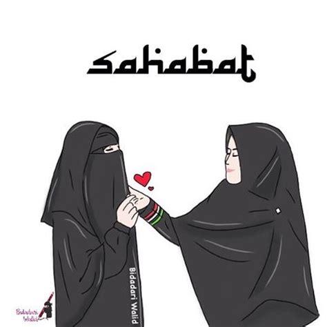 gambar anime kartun bercadar 50 gambar kartun muslimah bercadar cantik berkacamata