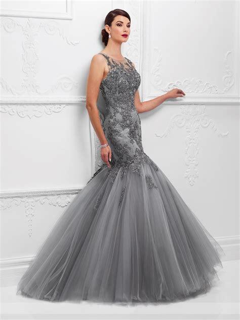 6 Of The Best Black White Inspired Dresses by Vestido De Festa 2017 Silver Grey Evening Dresses