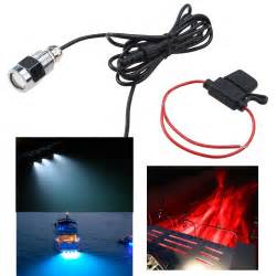 boat drain led light waterproof ip68 led drain light 9w underwater boat