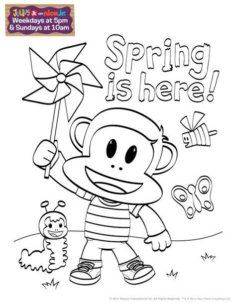 nick jr coloring pages spring 65 best life in c o l o r images on pinterest nick jr