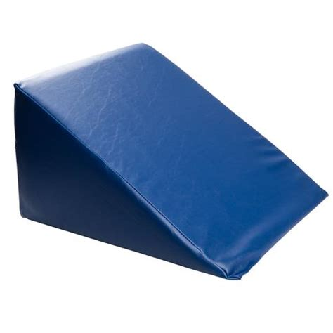 amazon com intevision extra large foam wedge bed pillow 33 quot x 30 5 quot x 7 5 quot color blue with large foam wedge pillow 1004999 3b scientific