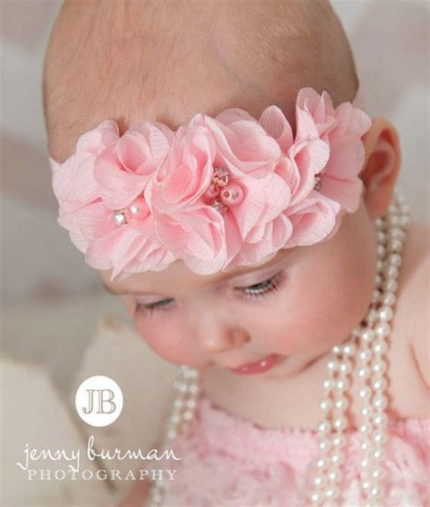 baby flower headband dollcake headband pink hair bow 17 best images about hair accessories on