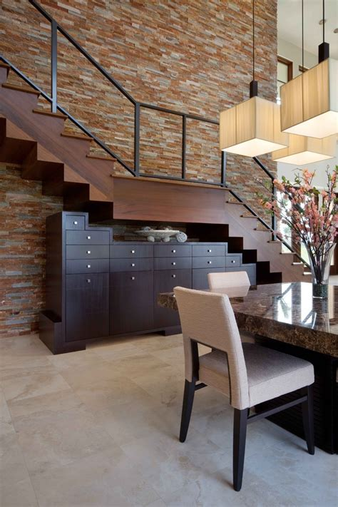 staircase design with dinning table decorating stair walls staircase modern with pendant chandelier wall stair cabinets