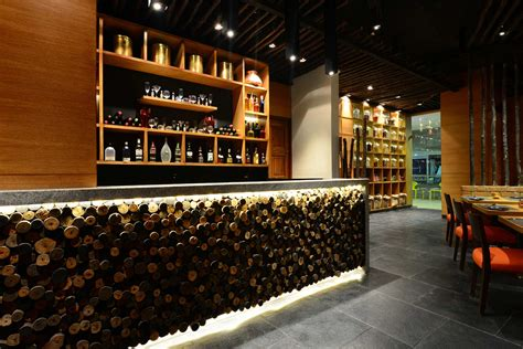 Indian Restaurant Decor Design by Shortlisted Studio K 7 Designs For The Restaurant Award