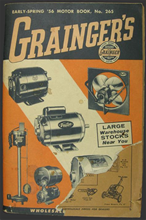 Grainger Gift Card - 1956 vintage grainger s catalog tools appliances housewares more vintage