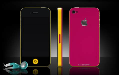 iphone 4 colors through colorware customize iphone 4 color gadgetsin