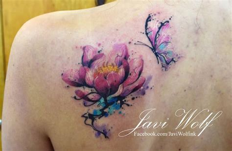 watercolor tattoo lotus 49 watercolor lotus tattoos ideas