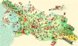 about tourism tourist maps of about