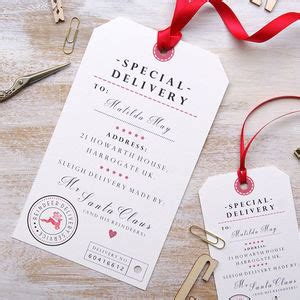 printable gift vouchers high street christmas gift tags and labels notonthehighstreet com