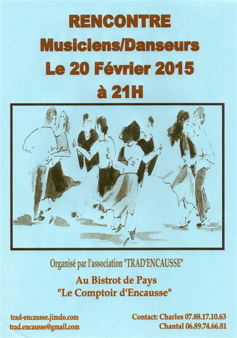 Le Comptoir D Encausse by Rencontre Musiciens Danseurs 20 F 233 Vrier 2015 224 Encausse