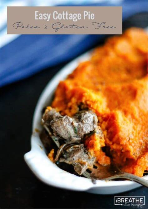 Carb Free Cottage Pie by Paleo Cottage Pie With Low Carb Option I Breathe I M Hungry