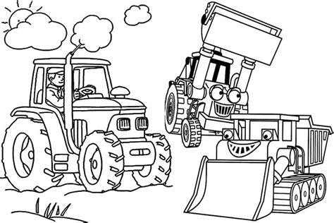 John Deere Tractor And Trailer Coloring Page Coloring Pages Tractor Trailer Coloring Pictures