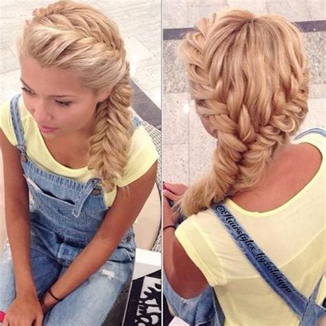 easy country hairstyles best 25 fishtail braids ideas on